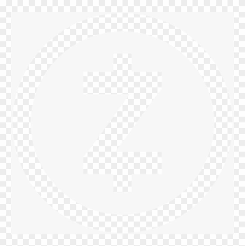 Zcash Logo Cutout Offwhite 2x Min - Play Button Icon