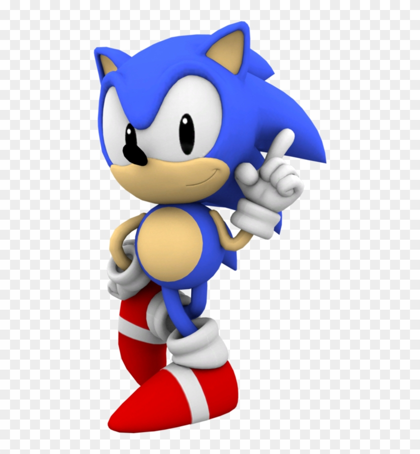 Sonic The Hedgehog Sonic The Hedgehog Classic Sonic Hd Png Download 894x894 1979505 Pinpng