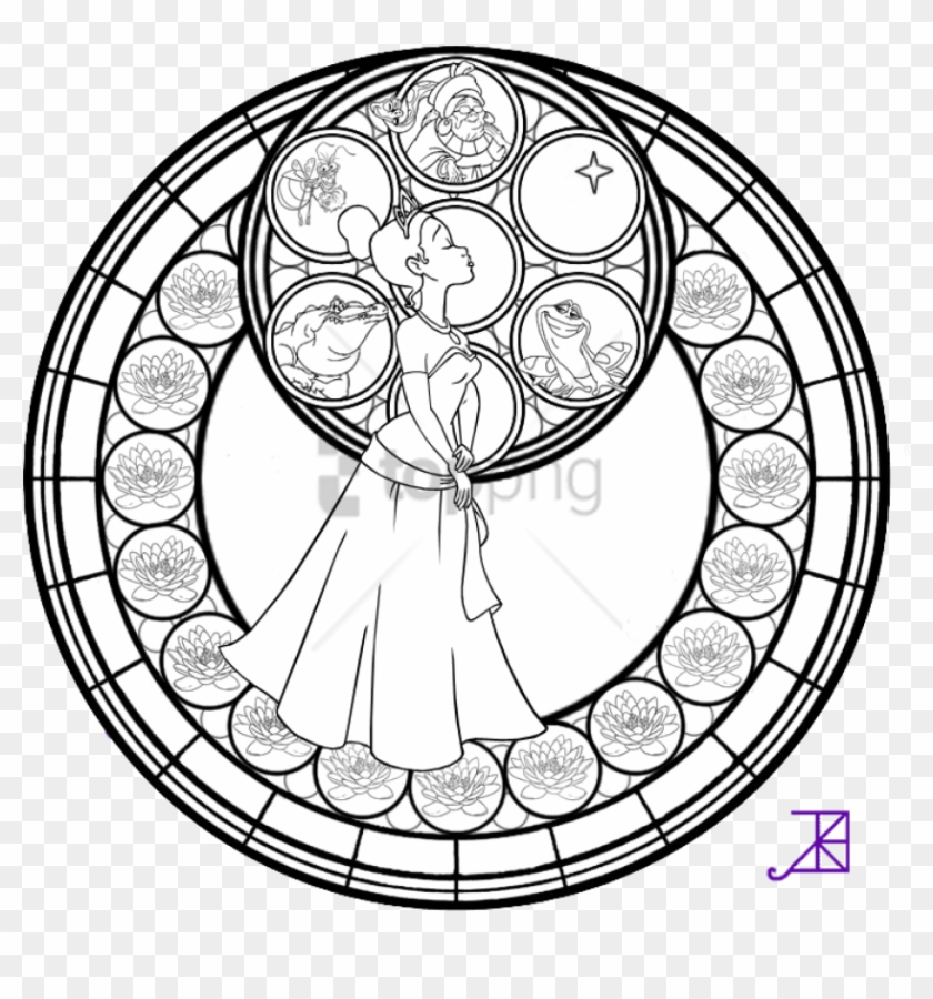 Free Png Disney Mandala Coloring Pages Png Image With - Cute ...
