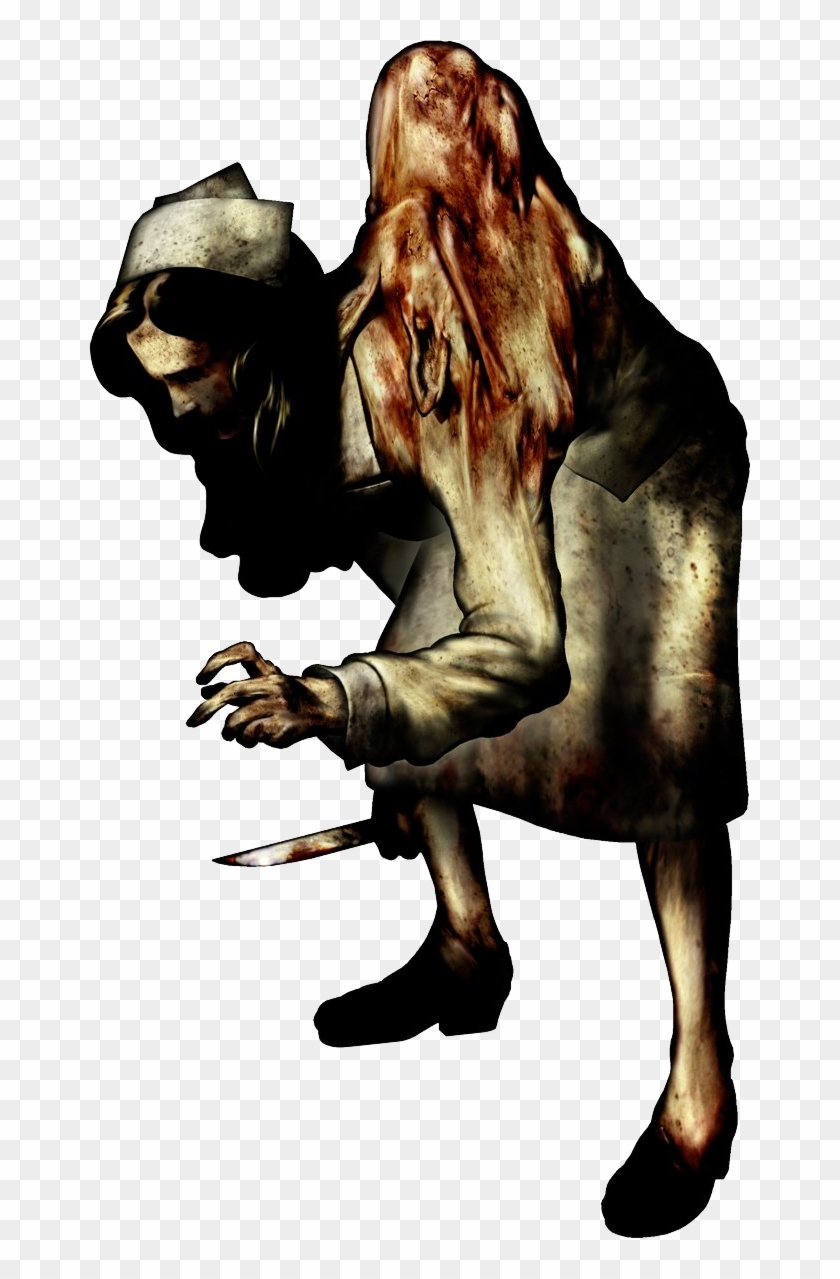 Silent Hill First Game Silent Hill 1 Nurse Hd Png Download