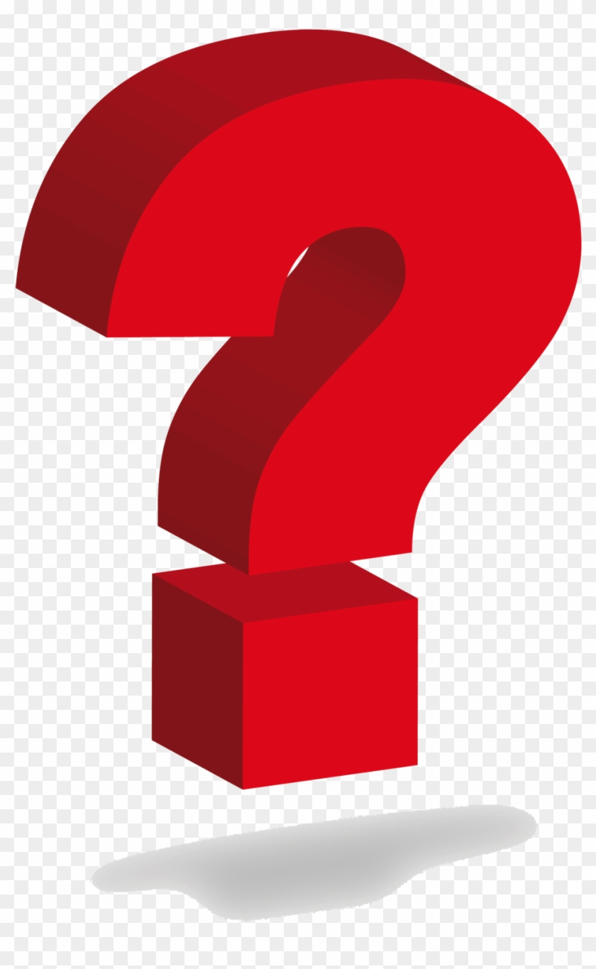 Question Mark Png Red Question Mark 3d Png Transparent Png