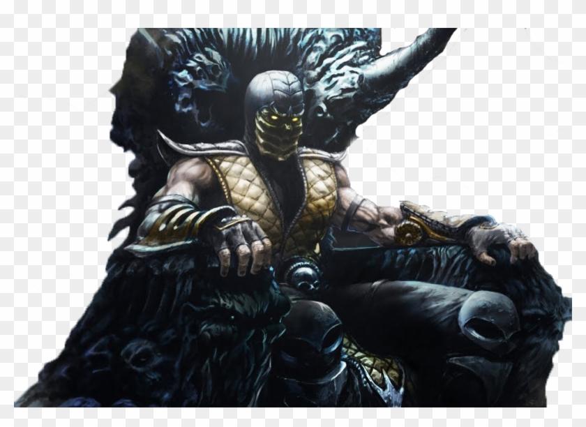 Mortal Kombat Scorpion Png Transparent Png 966x658 2000943