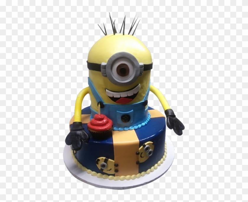 Awe Inspiring Cute Minion Cake Birthday Cake Hd Png Download 500X667 Funny Birthday Cards Online Inifofree Goldxyz