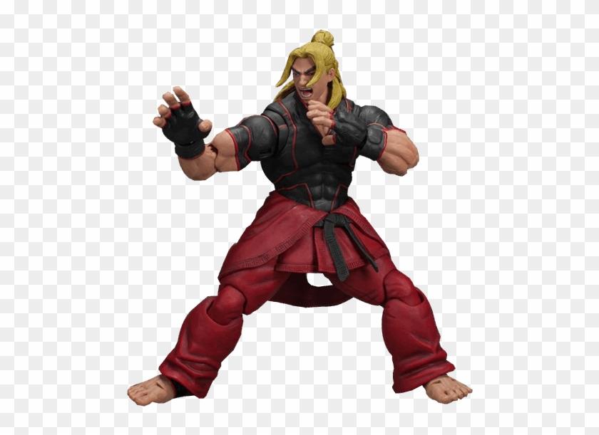 Ken 1 12 Scale Figure Ken Street Fighter V Png Transparent Png