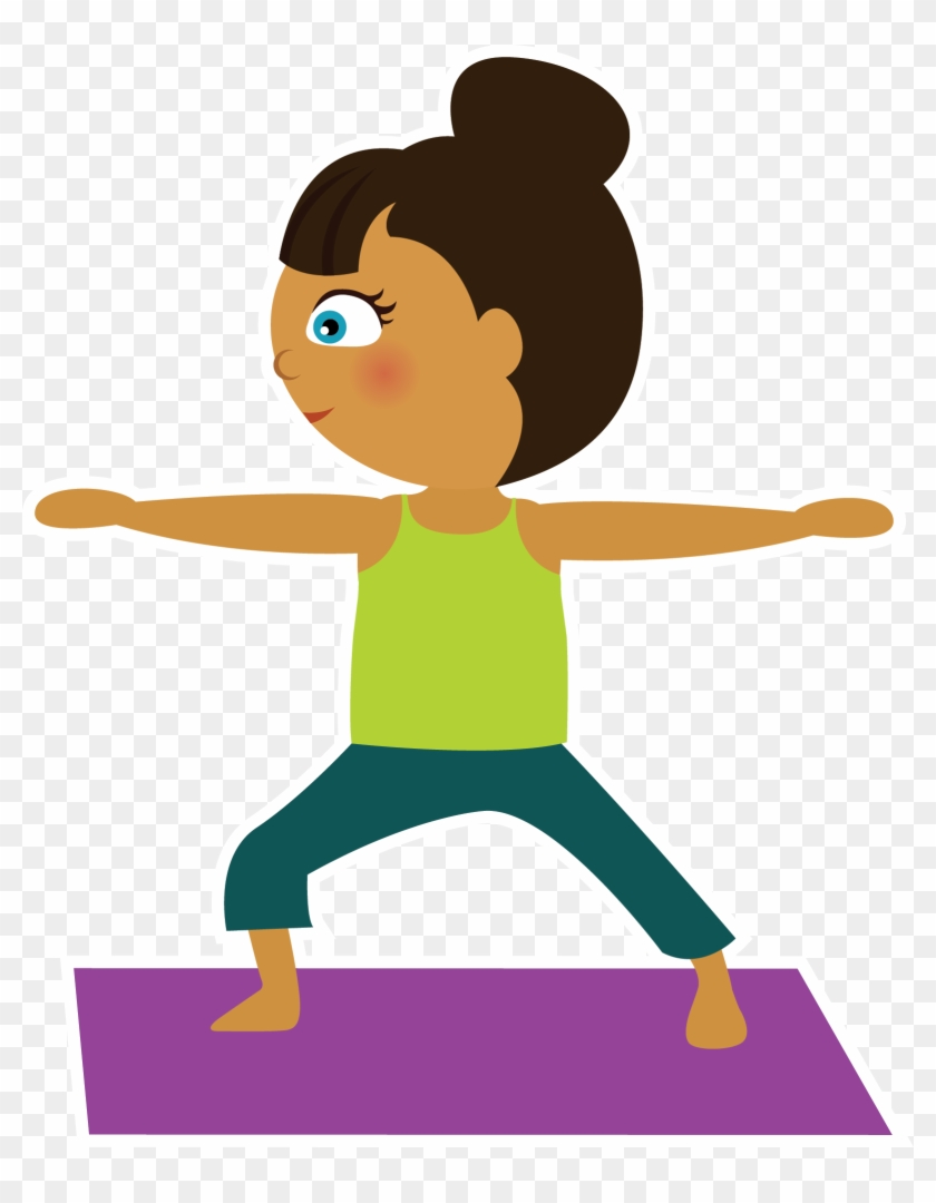 Yoga Clipart Kid Yoga Free Clipart On Dumielauxepices Kid Yoga Clip Art Hd Png Download 1601x1983 2093164 Pinpng