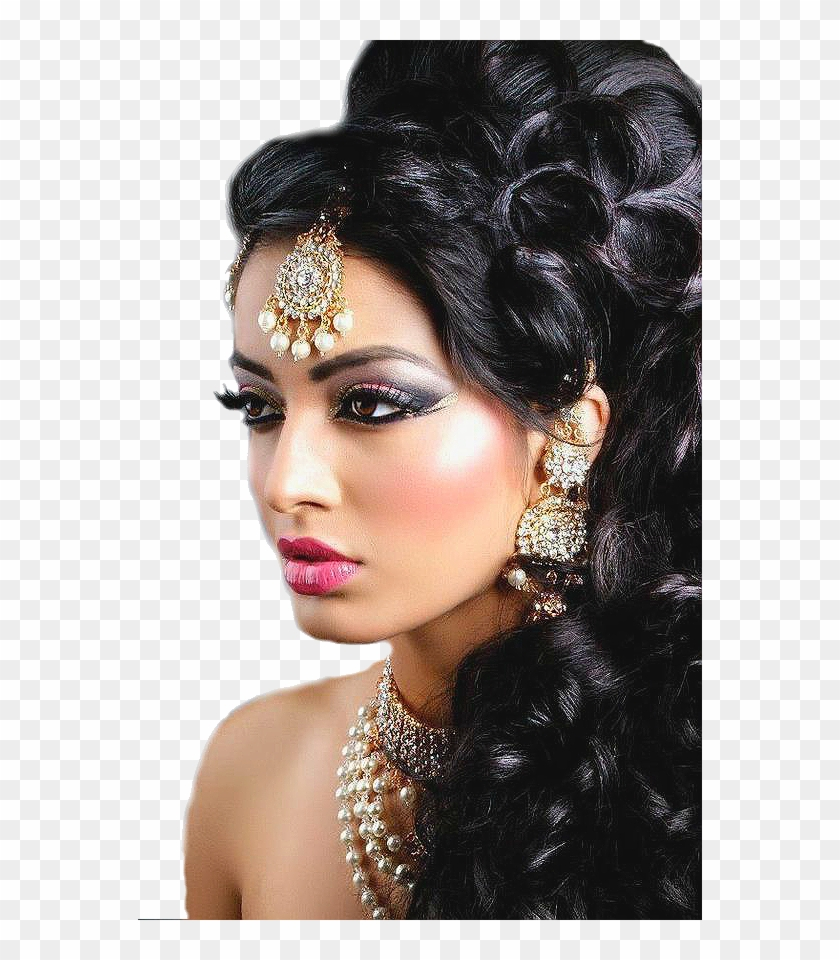 mujer unique wedding hairstyles, indian wedding hairstyles