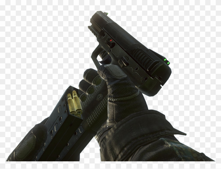 Mp7 Black Ops 2 Png For Kids - Five Seven Black Ops 2