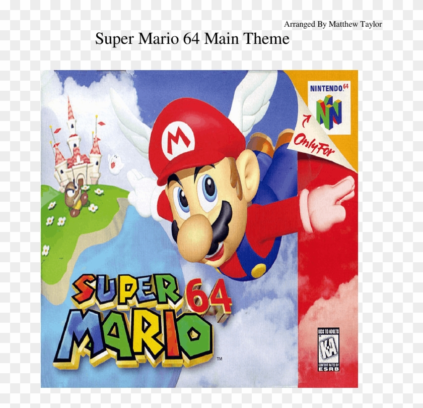 Super Mario 64 Main Theme Sheet Music For Piano, Trumpet