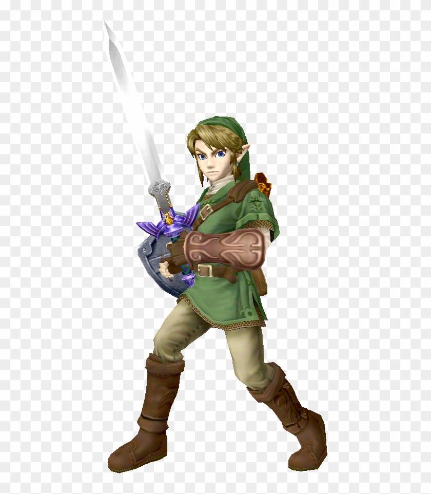 561 X 899 4 - Legend Of Zelda Link Render, HD Png Download