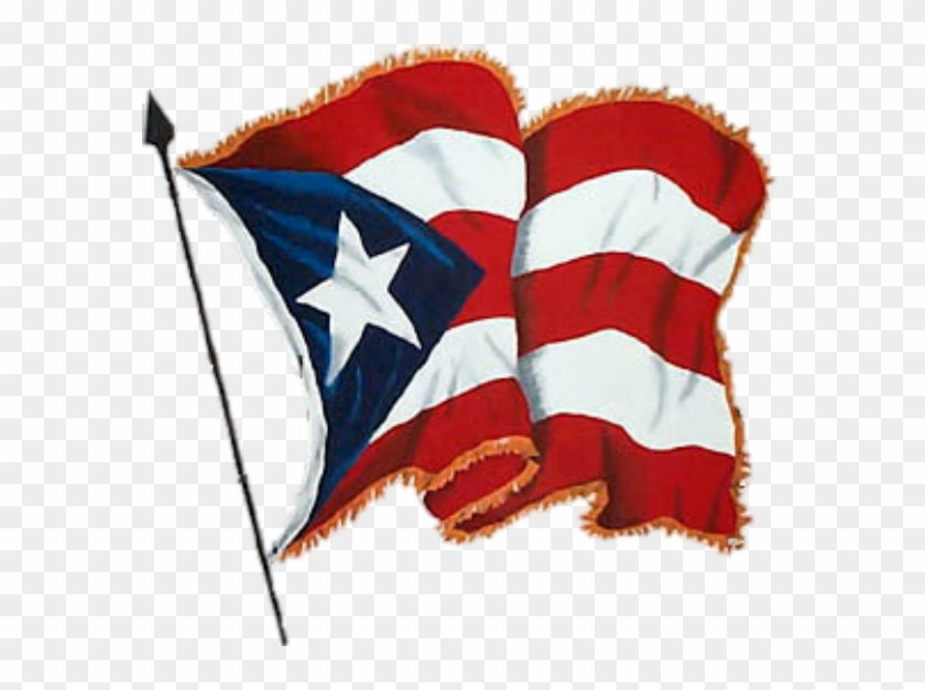 This is an image of Printable Puerto Rican Flag with pattern