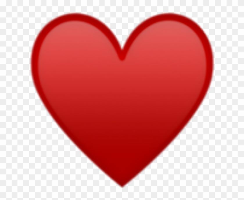 Red Heart Emoji Png , Png Download - Emoji Heart Png