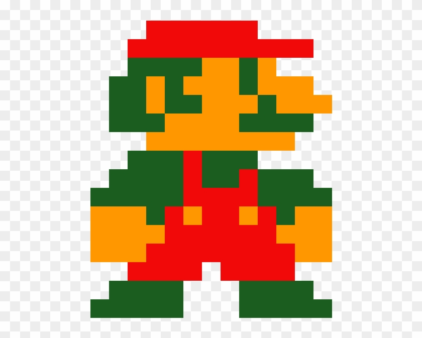 Mario 8 Bit Pixel Art Mario Super Mario Bros 1 Hd Png Download