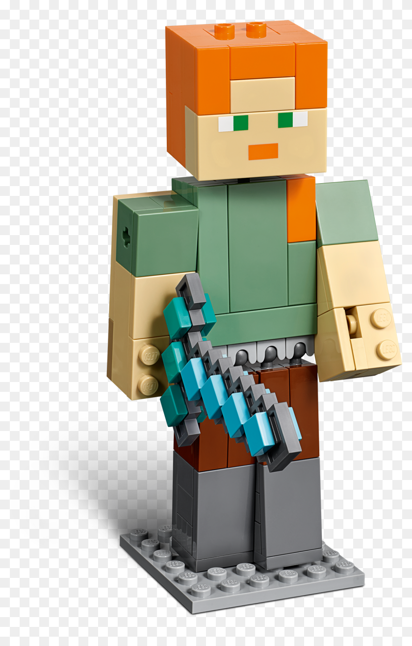 Lego Minecraft Alex Hd Png Download 3641x2048 2445010 Pinpng