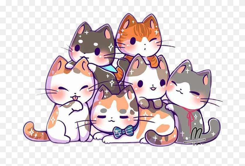 Cute Cat Cartoon Images Hd 81021 Nama Untuk Kucing Comel Lucu Dan Unik