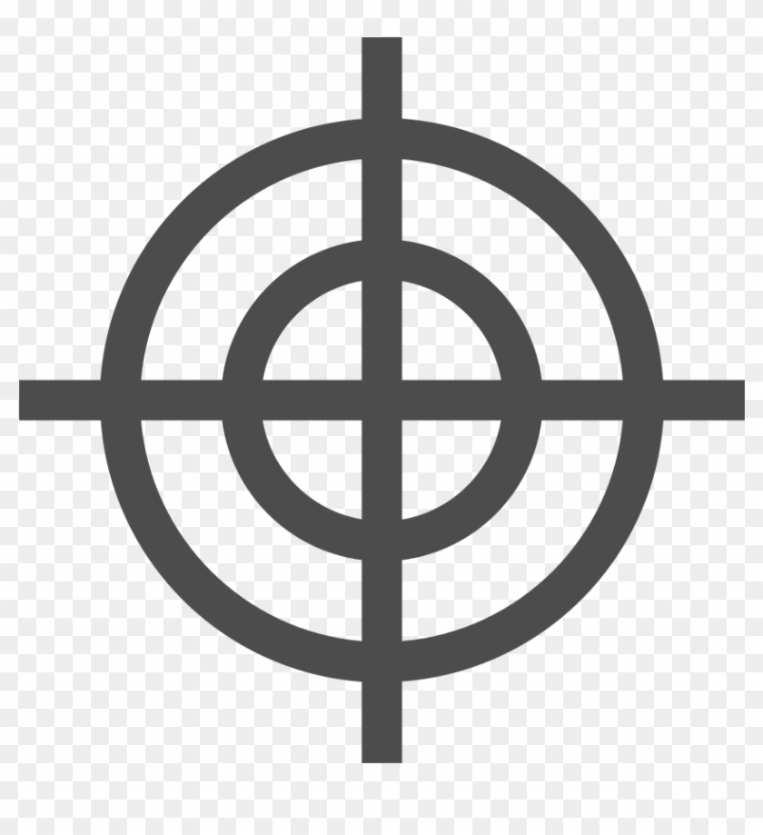 Breezeicons Actions 22 Crosshairs Duck Target For Shooting