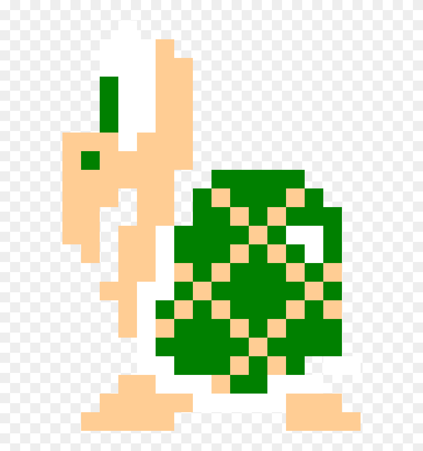 Pixel Koopa Troopa Transparent Png Download Super Mario Bros