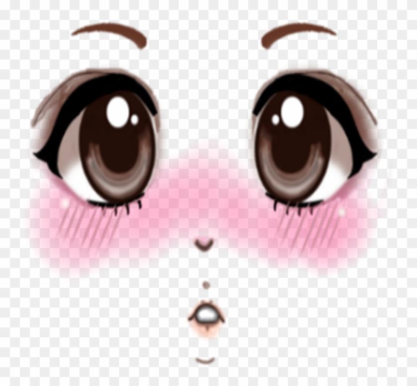 Roblox Face Png Anime Transparent Png 1024x1024 282836 Pinpng
