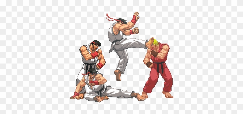 Instead Of The Crouching Forward Ryu Could Use An Street