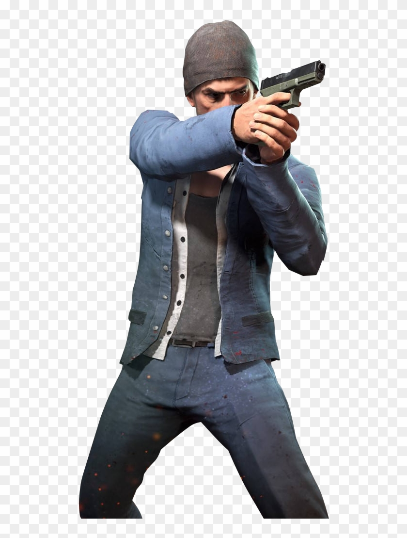 Playerunknown S Battlegrounds Man With Gun Pubg Png Transparent Png 520x1035 288445 Pinpng