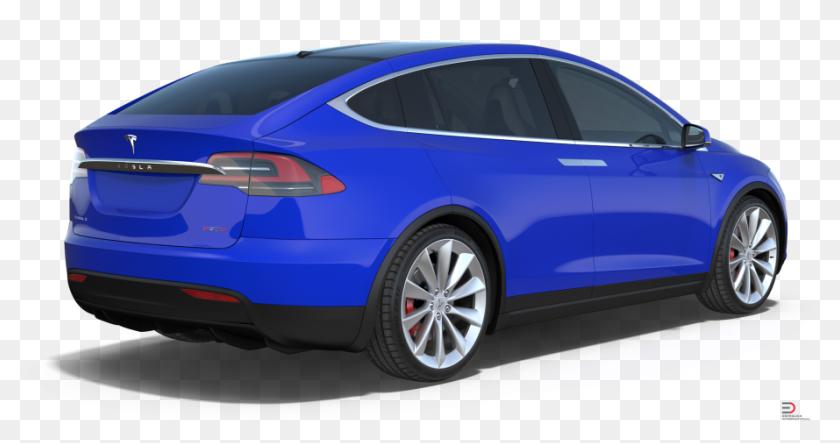 1 Tesla Model X Royalty-free 3d Model - Tesla X Transparent
