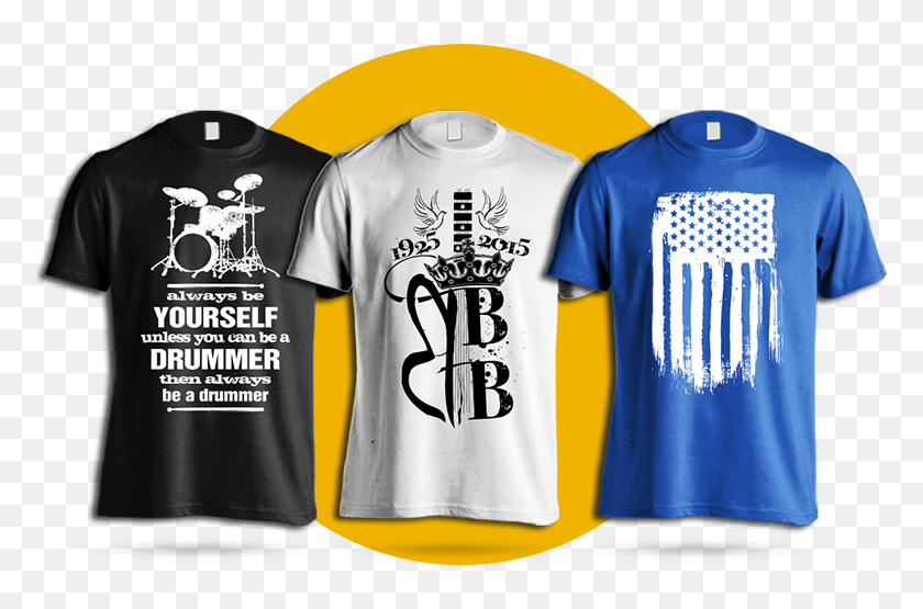 We Can Design And Manufacture High Quality T Shirts - Eye Catching T Shirts  Design, HD Png Download - 774x475 (#2959858) - PinPng