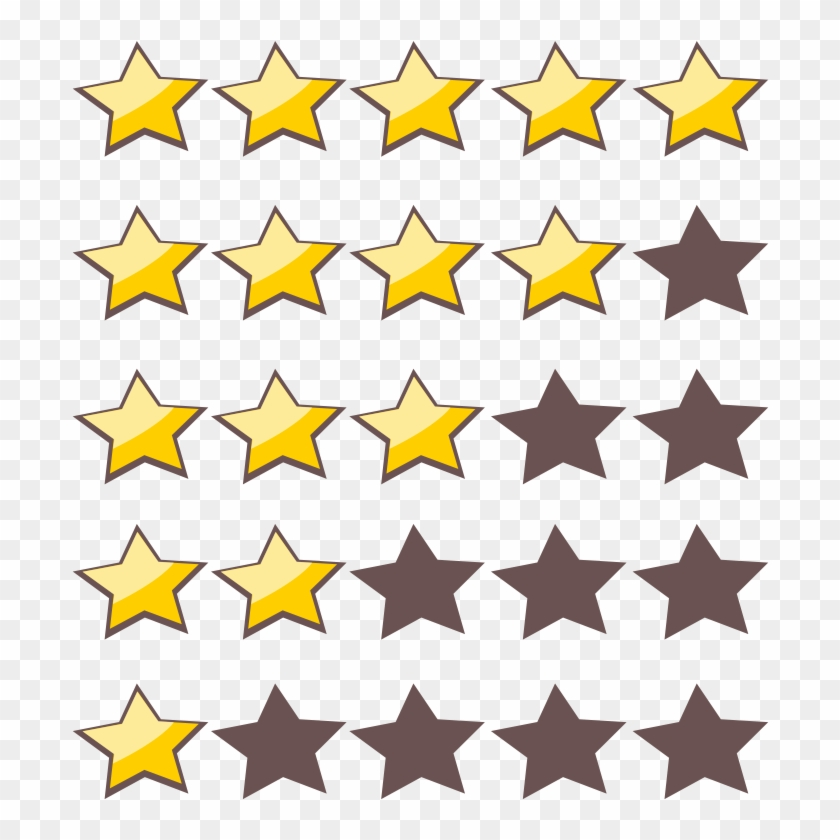 Rating Star Png Photo 1 5 Star Rating Transparent Png 660x720