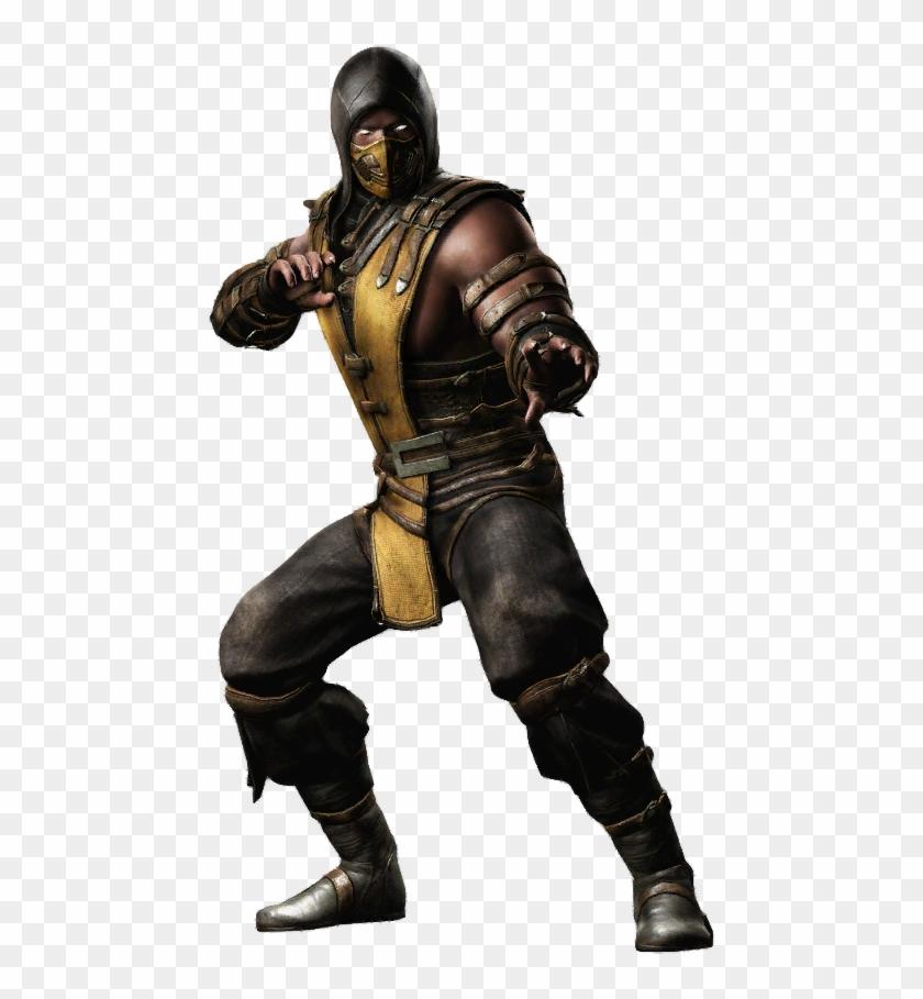 Thumb Image Scorpion Mortal Kombat Png Transparent Png
