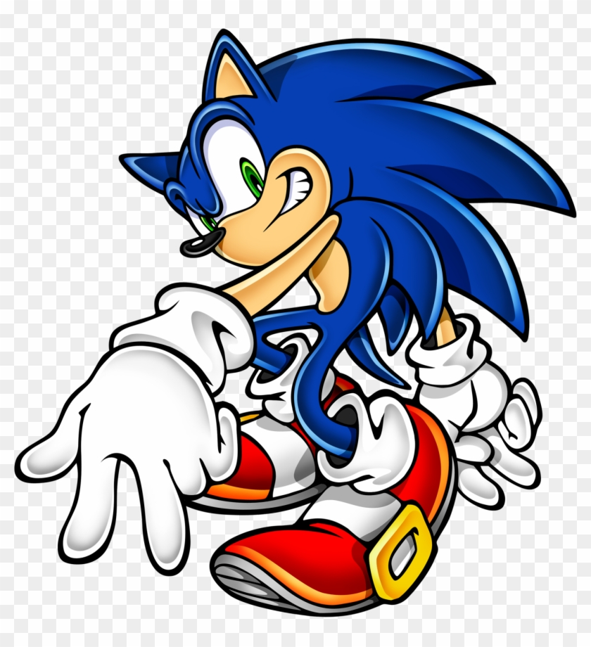 Sonic Art Assets Dvd Shadow The Hedgehog 4 Clipart Sonic The