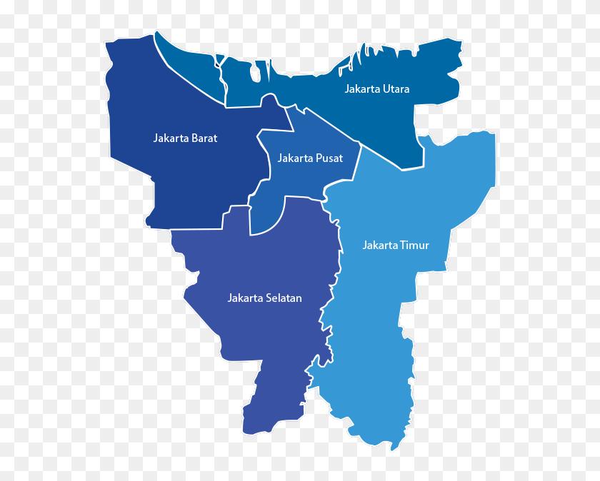 Jakarta Map Png - Atlas, Transparent Png - 605x614 (#3042887 ...