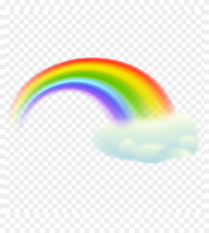 Free Png Rainbow Cloud Png Png Image With Transparent