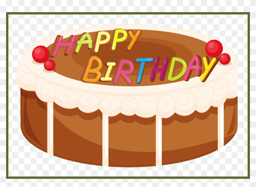 Appealing Happy Birthday Wishes Greetings Clipart Cake