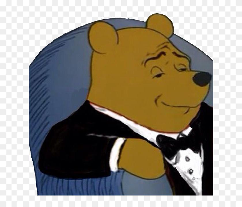 Pooh In Tuxedo