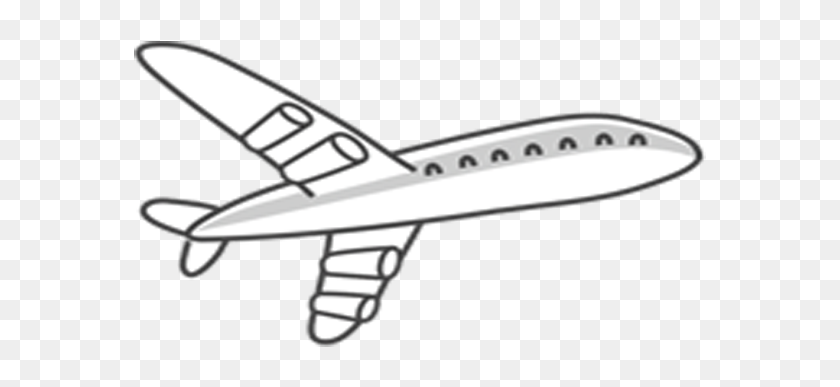 Immigration Clipart Airplane Airplane Cartoon Black And White
