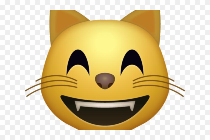 Dry Grass Clipart Emoji - Cat Emoji Png Transparent, Png