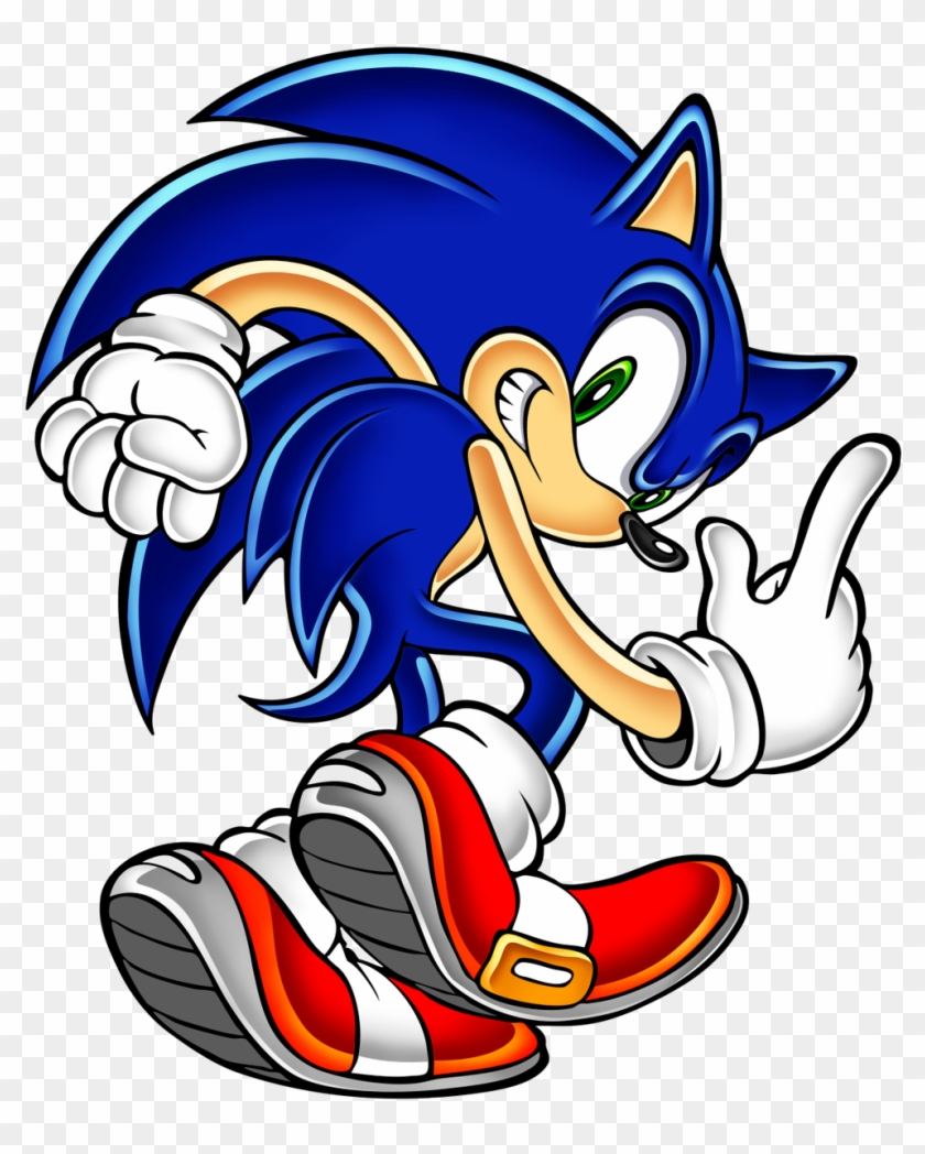 Sonic The Hedgehog Png Pack Sonic The Hedgehog Sonic Adventure Transparent Png 826x981 324277 Pinpng