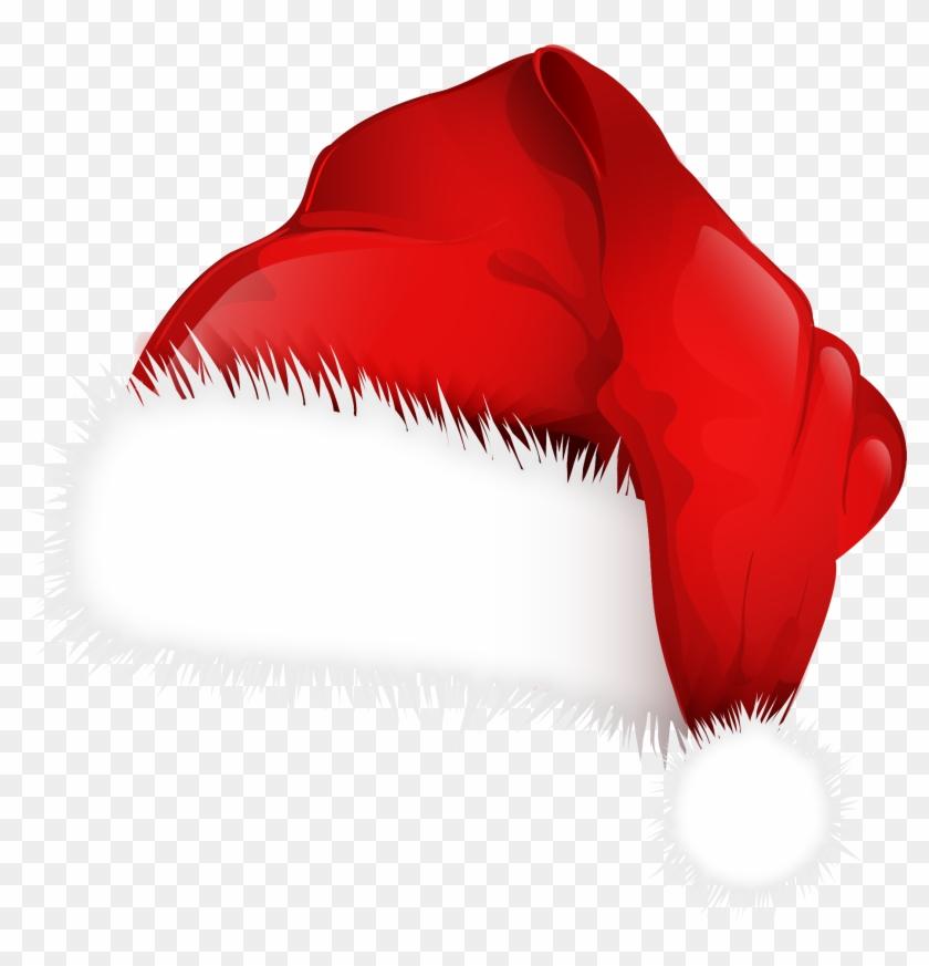 Transparent Christmas Hat.Santa Hat Clipart File Christmas Cap Clipart Png
