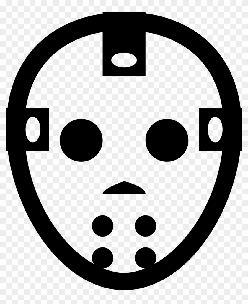 Png File Svg Jason Voorhees Mask Icon Transparent Png 830x980