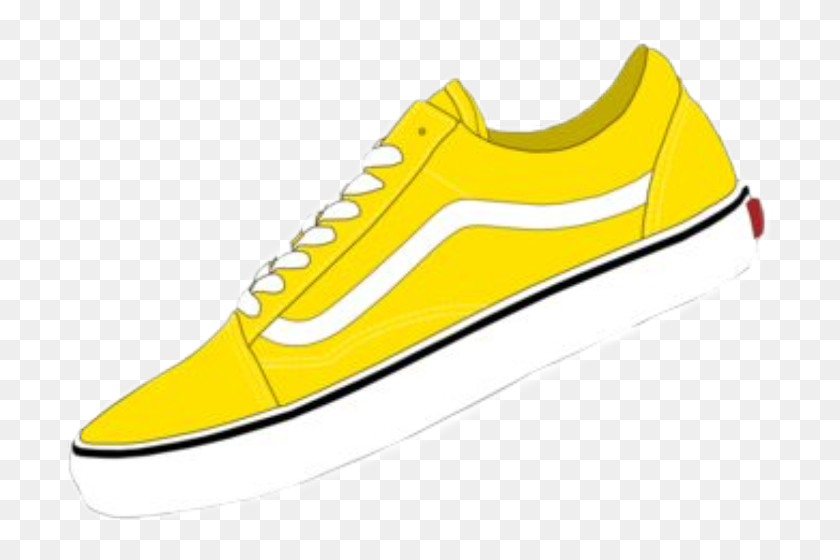 Nike Free , Png Download Yellow Aesthetic Shoes