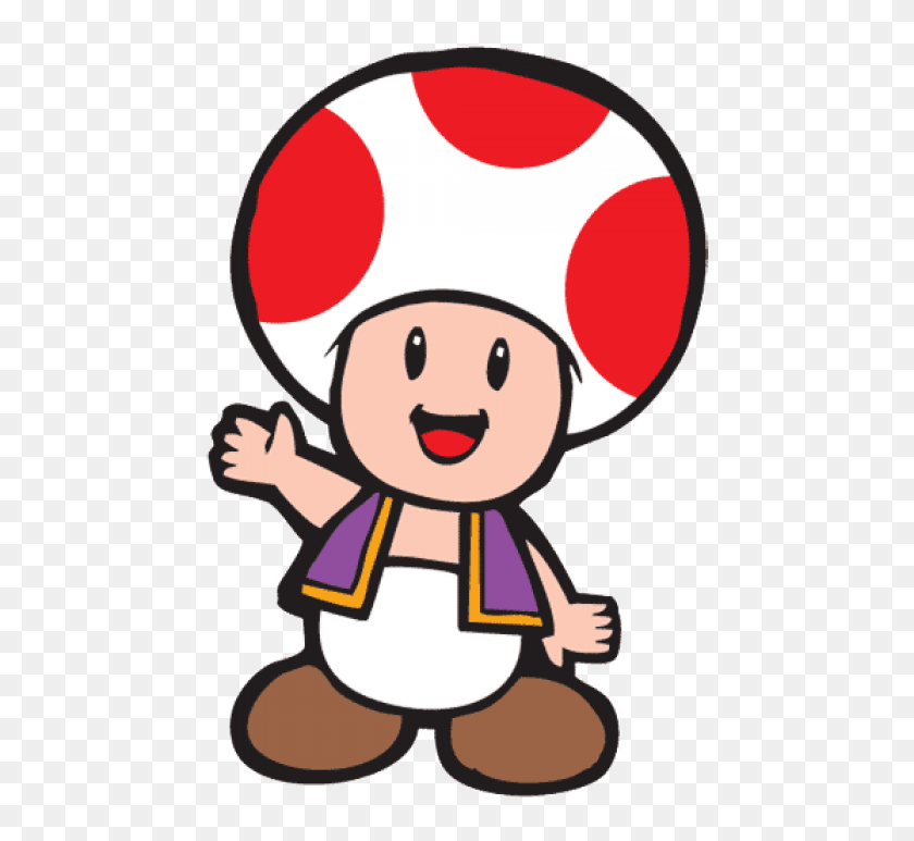 Arcade Characters Png Cartoon Toad From Mario Transparent Png