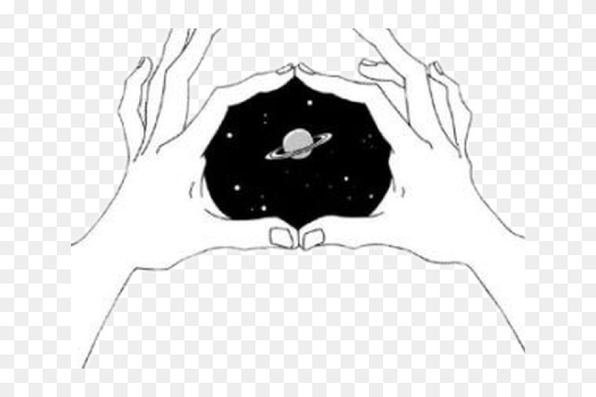 Unsplash Aesthetic Black And White Drawings Tumblr Hands Galaxy