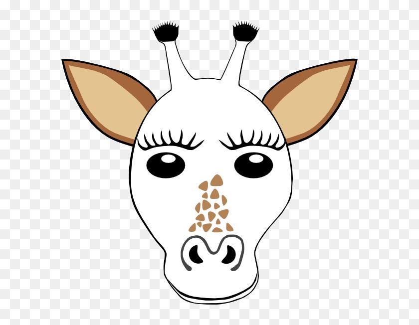 Giraffe Face Mask Template 223445 - Christmas Giraffe ...