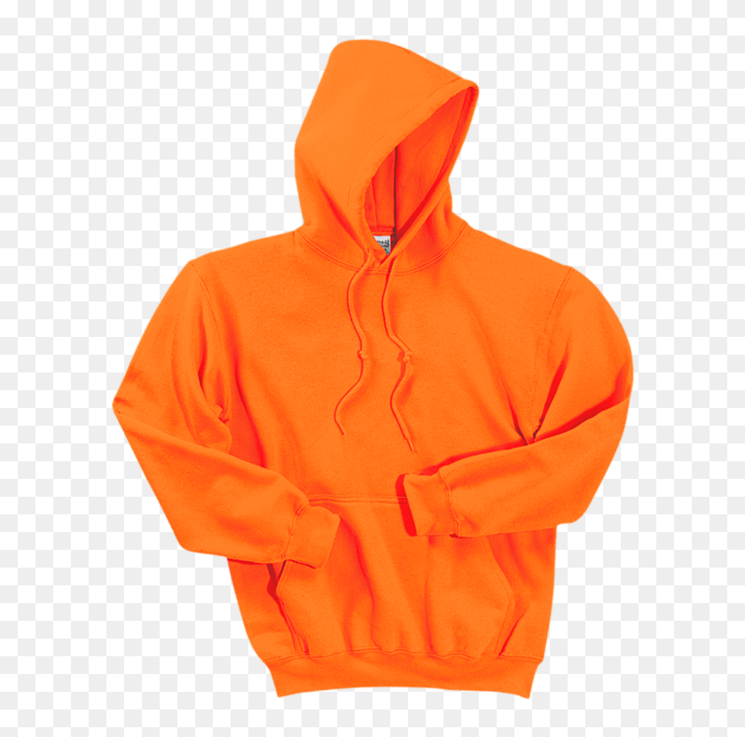 Gildan Dryblend Pullover Hooded Sweatshirt 12500 Safety