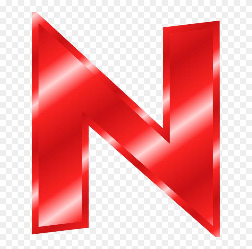 Letter Alphabet N Red Logo Big Red Letter N Hd Png