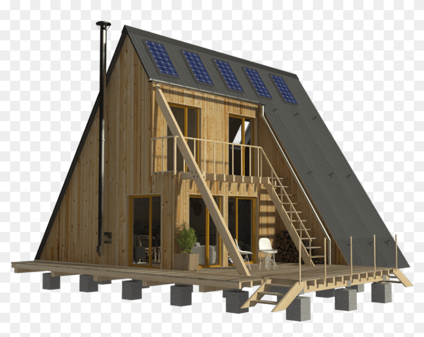 Beautifulhome A Frame House Modern House Design House Hd Png