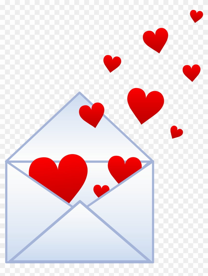 Envelope Mary Clever Heart Envelope Emoji Meaning Heart Love