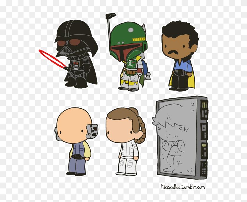 Lil Star Wars Star Wars Carbonite Art Hd Png Download
