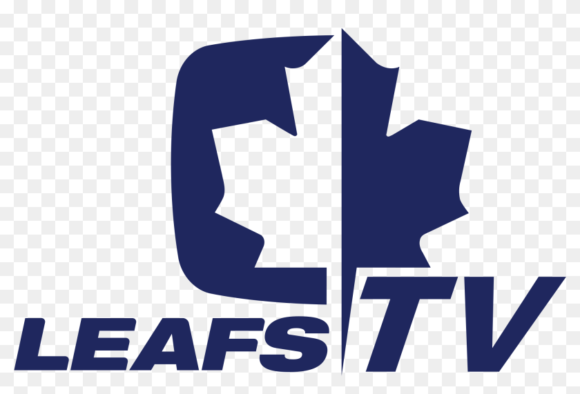 Leafs Tv Toronto Maple Leafs Leafs Tv Logo Hd Png Download 2000x1416 3811550 Pinpng