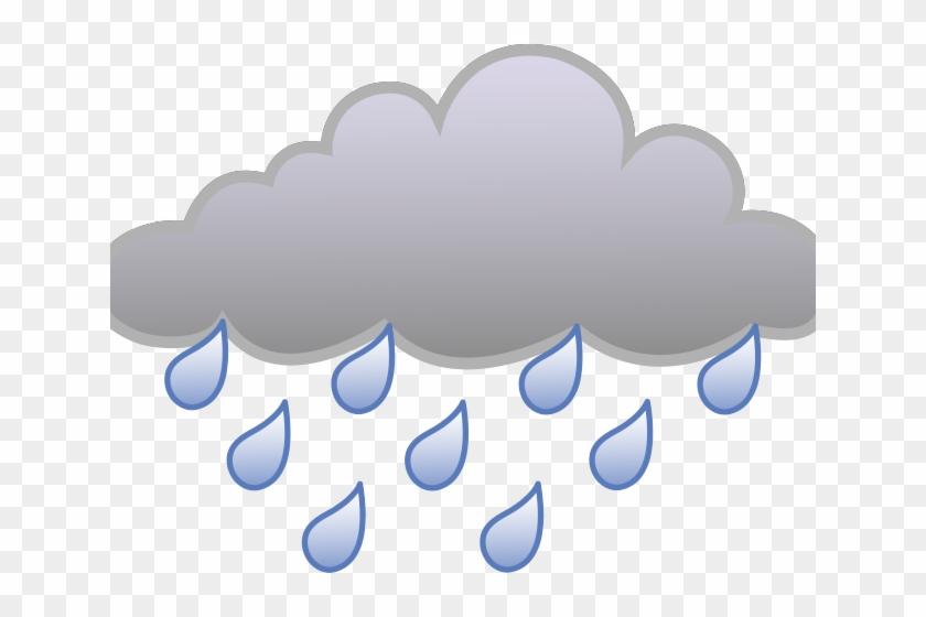 Cartoon Rain Clouds - Rain Cloud Clipart, HD Png Download