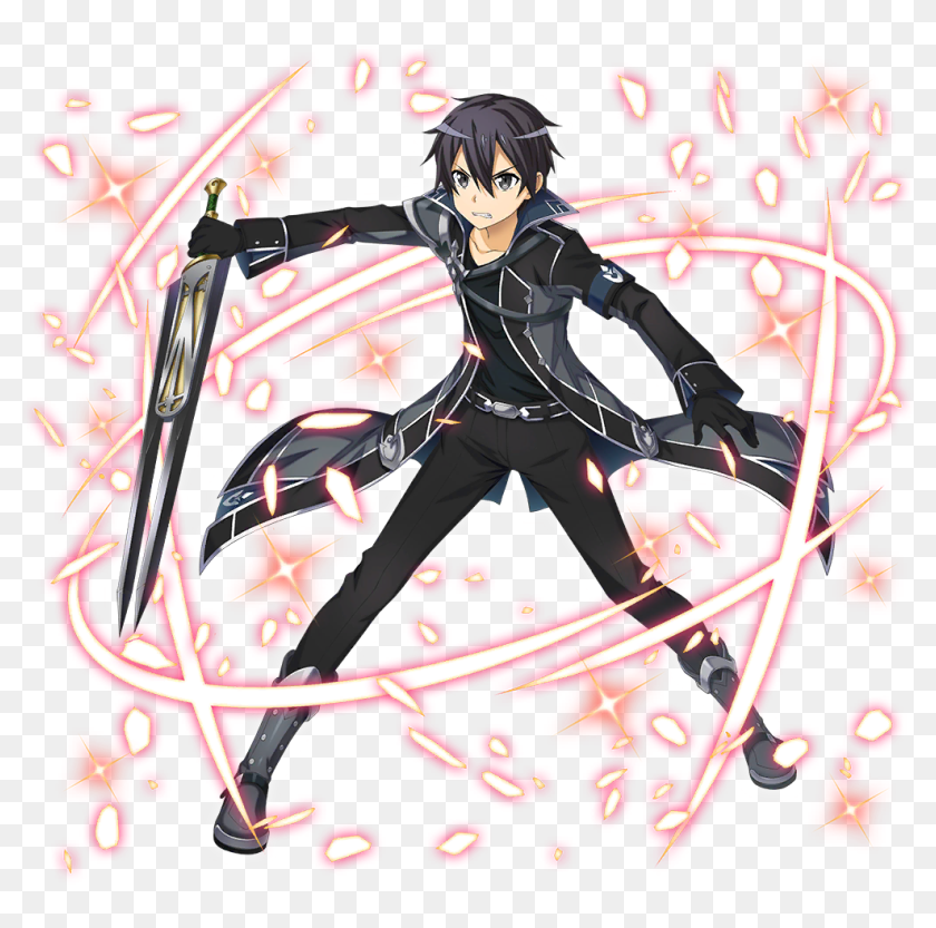 Full Sized Pictures Of Kirito Asuna Sachi And Leafa Sword Art Online Integral Factor Render Hd Png Download 1024x1024 3918657 Pinpng