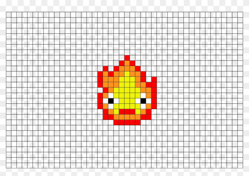 2 Download The Template Small Pixel Art Grid Hd Png Download